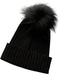 Phenix Cashmere Hat - Black