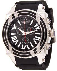 Aquaswiss Swissport Xg Diamond D Watch - Metallic