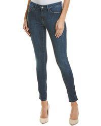 Mavi Jeans Adriana Deep Indigo Tribeca Super Skinny Leg - Blue