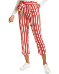 Chinti & Parker Parasol Pant - Red
