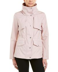 Cole Haan Signature Woven Jacket - Pink