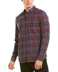 Joules Buchannan Classic Fit Woven Shirt - Red