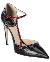 Dior Leather Pump - Black