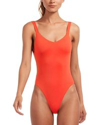 Vitamin A Leah Bodysuit - Red