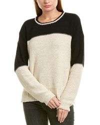 James Perse - Colorblocked Sweater - Lyst