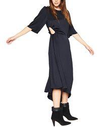 Ba&sh Nora Midi Dress - Black