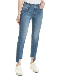 7 For All Mankind 7 For All Mankind Josefina Blue Skinny Jean