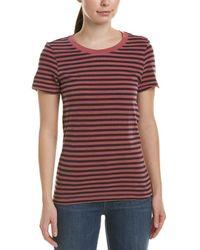 Stateside Striped T-shirt - Pink