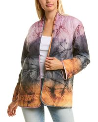 Johnny Was Tie Dye Quilted Jacket - Multicolour