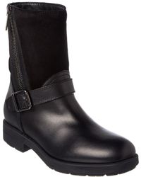 Aquatalia - Laura Waterproof Leather & Suede Boot - Lyst