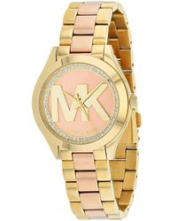 Michael Kors Women's Mini Slim Runway Watch - Metallic