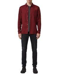 AllSaints Allsaints Fairview Shirt - Red