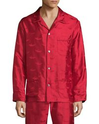 La Perla - Silk Pajama Top - Lyst