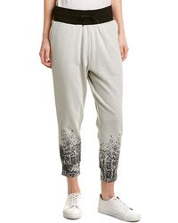 Sam Edelman Paint Splatter Jogger Pant - Grey