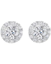 Diana M | Bridal Collection 14k 1.46 Ct. Tw. Diamond Studs | Lyst