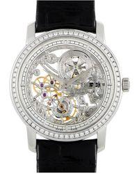 Vacheron Constantin Vacheron Constantin Leather Watch - Metallic