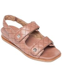 Bernardo Carlita Leather Sandal - Pink