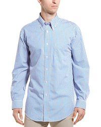 Brooks Brothers Plaid And Stripes Madison Buttondown Shirt - Blue