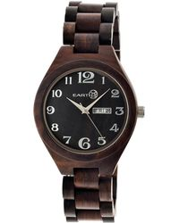 Earth Unisex Sapwood Watch - Black
