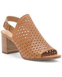 Lucky Brand Verazino Heeled Sandal - Brown