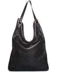 Hermès Black Evercalf Leather Massai Pm