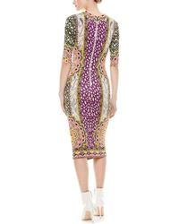 Alice + Olivia Delora Dress - Multicolour