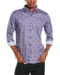 Robert Graham Holloway Woven Shirt - Blue