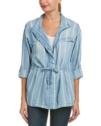 Billy T - Stripe Jacket - Lyst