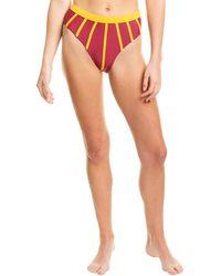Andrea Iyamah Arifa High-waist Bikini Bottom - Multicolour