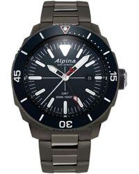 Alpina Men's Stainless Steel Watch - Multicolour