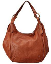 Frye Madison Leather Shoulder Bag - Brown