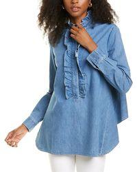 Stella McCartney Ina Shirt - Blue