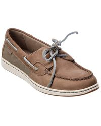 Sperry Top-Sider Coastfish Leather Boat Shoe - Natural