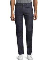 Versace - Trend Straight-leg Denim Pant - Lyst