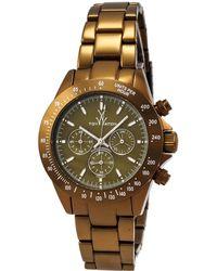Toy Watch Chrono Aluminum Watch - Metallic