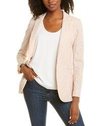Les Copains Lace Skin Jacket - Pink