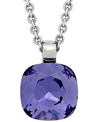 Swarovski Crystal Gem Pendant Necklace - Multicolour