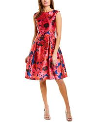 Tahari Tahari Asl A-line Dress - Pink