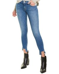 Hudson Jeans Krista Brighton Skinny Ankle Cut - Blue