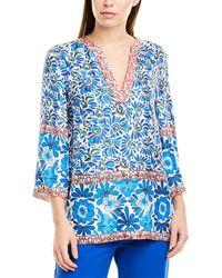 ESCADA Silk Top - Blue