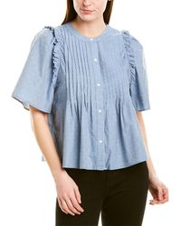 Joie Audriana Blouse - Blue