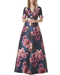 Kay Unger Jessica Maxi Dress - Multicolour