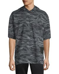 PUMA - Xo Camouflage Short-sleeve Hoodie - Lyst
