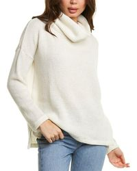 Bobi Turtleneck Sweater - White