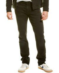 Hudson Jeans Blake Black Slim Straight Leg Jean