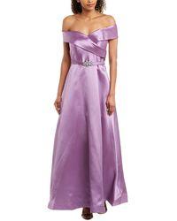 Eliza J Gown - Purple