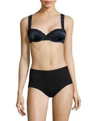Stella McCartney Clara Whispering Contour Bra - Black