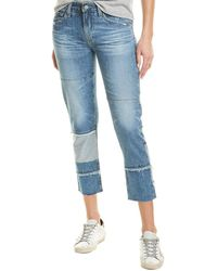 AG Jeans The Ex-boyfriend 18 Years Blue Mosque Tapered Straight Jean