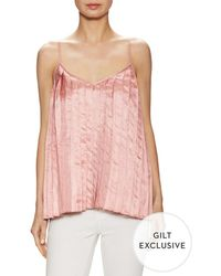 Keepsake Tainted Love Pleated Top - Pink