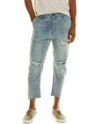 One Teaspoon Mr Browns Blue Storm Relaxed Tapered Jean